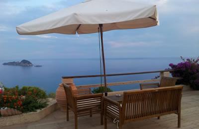 Korfu-Ferienwohnung mit Terrasse zur Miete
