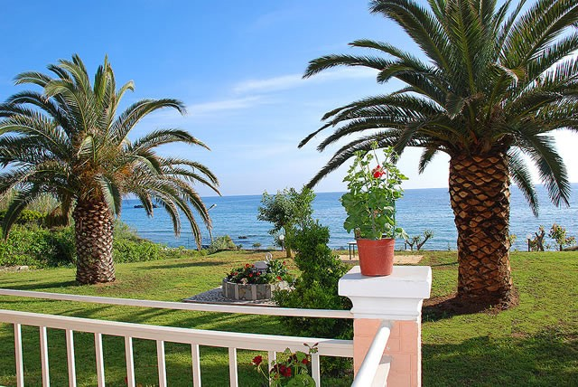 Korfu-Ferienwohnungen direkt am Meer