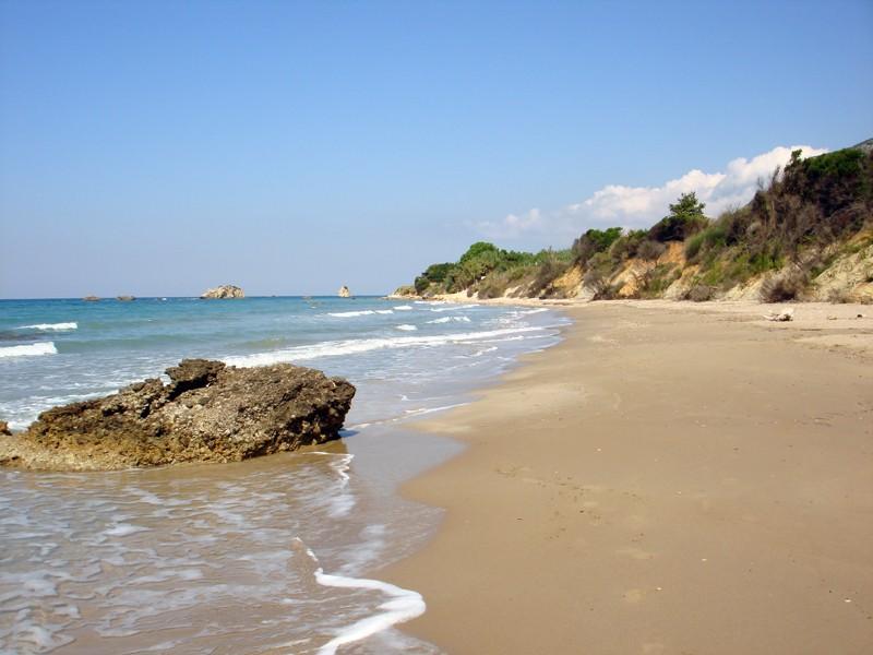 Die herrliche Bucht Skidi auf Korfu, Familienfreundlich und ruhig